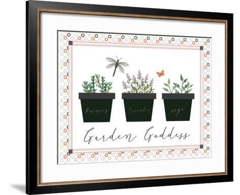 Garden II-ND Art-Framed Art Print