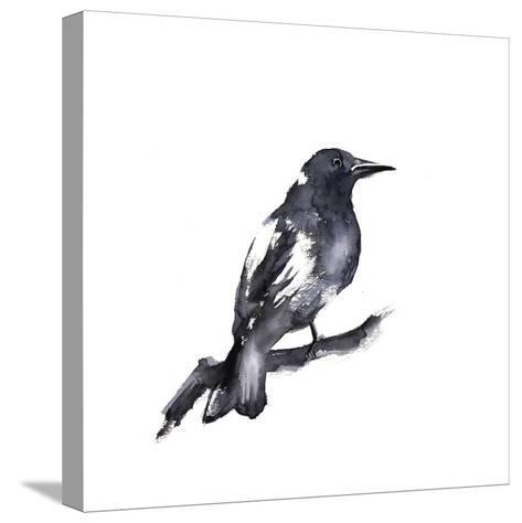 Black Crow-Sophia Rodionov-Stretched Canvas Print