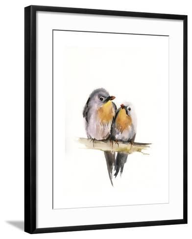 Bird Couple-Sophia Rodionov-Framed Art Print