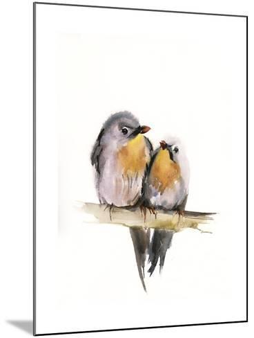 Bird Couple-Sophia Rodionov-Mounted Art Print