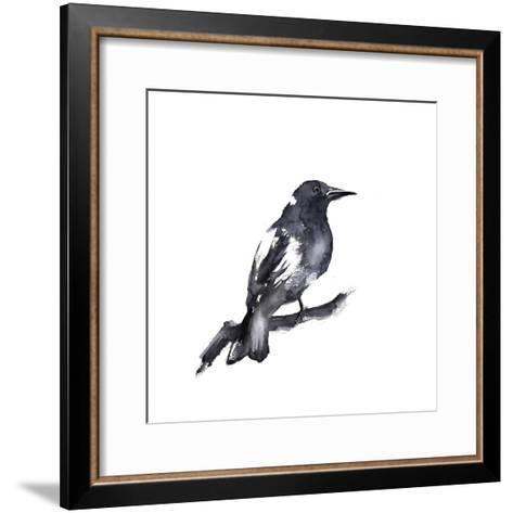 Black Crow-Sophia Rodionov-Framed Art Print