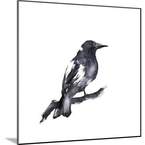 Black Crow-Sophia Rodionov-Mounted Art Print