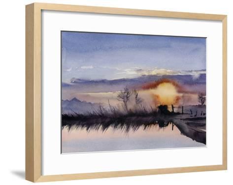 Simple Sunset-Sophia Rodionov-Framed Art Print
