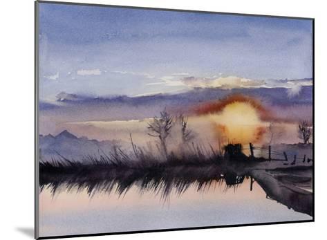 Simple Sunset-Sophia Rodionov-Mounted Art Print