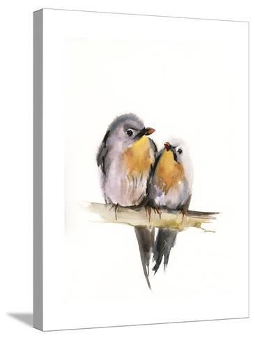 Bird Couple-Sophia Rodionov-Stretched Canvas Print
