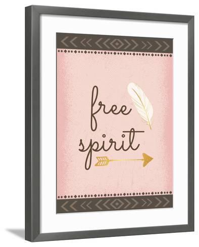 Free Spirit-ND Art-Framed Art Print