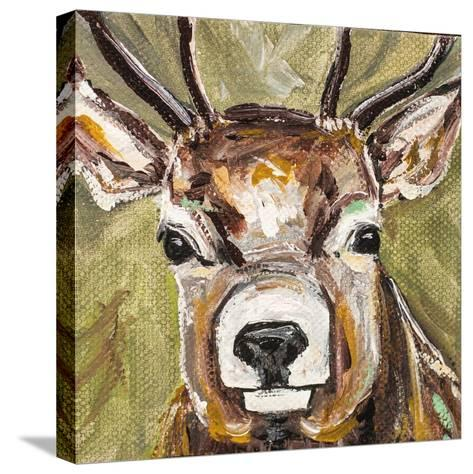 Deer-Molly Susan-Stretched Canvas Print