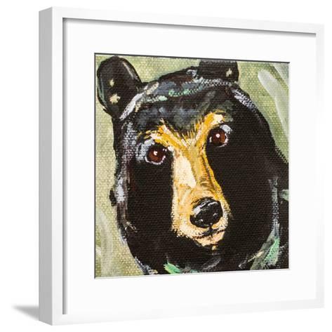 Black Bear-Molly Susan-Framed Art Print