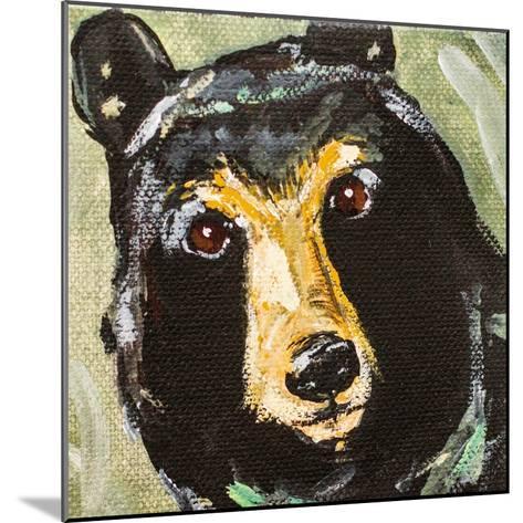 Black Bear-Molly Susan-Mounted Art Print