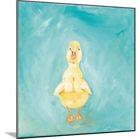 Duckling-Molly Susan-Mounted Art Print