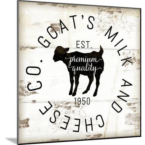 Goat's Milk and Cheese Co.-Jennifer Pugh-Mounted Art Print