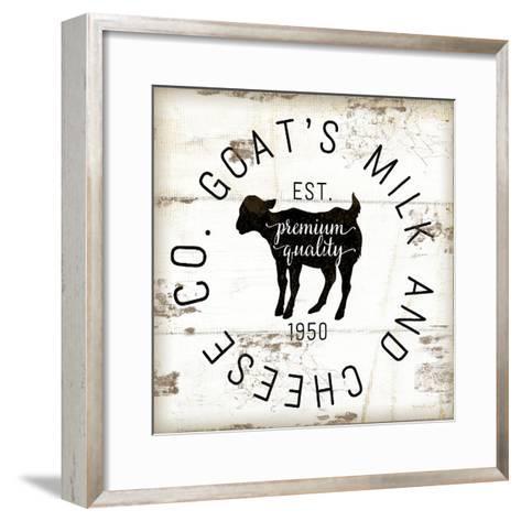 Goat's Milk and Cheese Co.-Jennifer Pugh-Framed Art Print