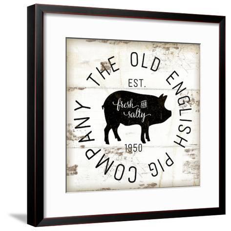 The Old Pig Company-Jennifer Pugh-Framed Art Print