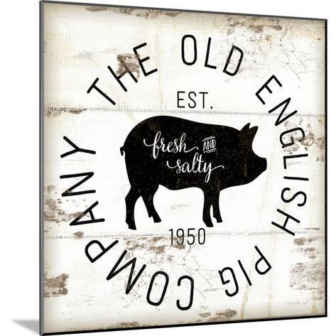 The Old Pig Company-Jennifer Pugh-Mounted Art Print