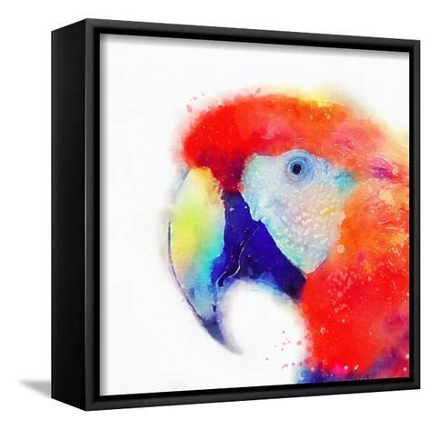 The Articulate II-Jacqueline Maldonado-Framed Canvas Print