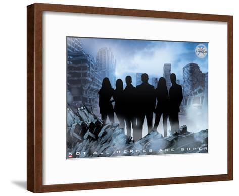 MARVEL: Heroes for Hire--Framed Art Print