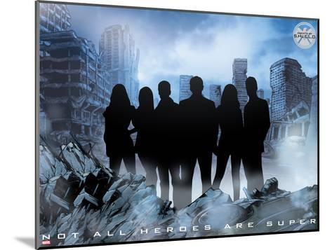 MARVEL: Heroes for Hire--Mounted Art Print