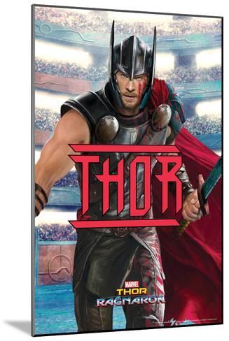 Thor: Ragnarok - Thor--Mounted Art Print