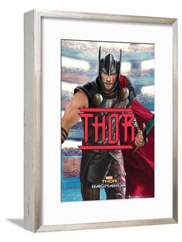 Thor: Ragnarok - Thor--Framed Art Print