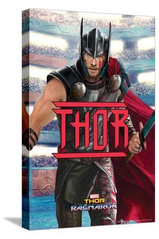 Thor: Ragnarok - Thor--Stretched Canvas Print