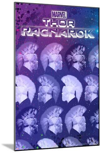 Thor: Ragnarok - Hulk--Mounted Art Print