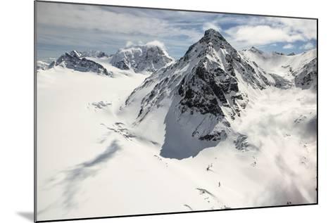 The Alaska Range in Denali National Park-Aaron Huey-Mounted Photographic Print