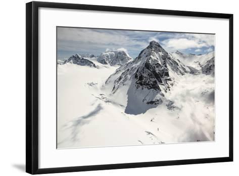 The Alaska Range in Denali National Park-Aaron Huey-Framed Art Print