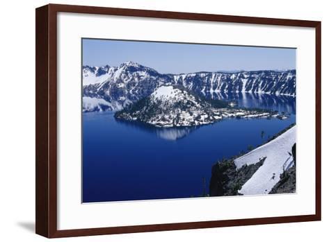 Crater Lake National Park, Oregon-Raymond Gehman-Framed Art Print