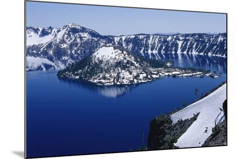 Crater Lake National Park, Oregon-Raymond Gehman-Mounted Photographic Print