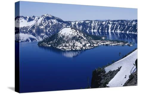 Crater Lake National Park, Oregon-Raymond Gehman-Stretched Canvas Print