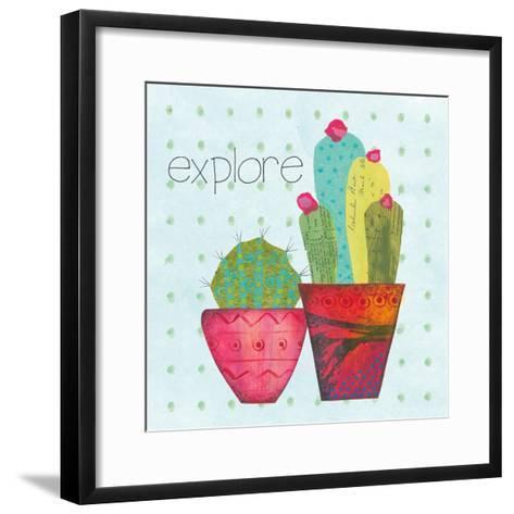 Southwest Cactus I-Courtney Prahl-Framed Art Print