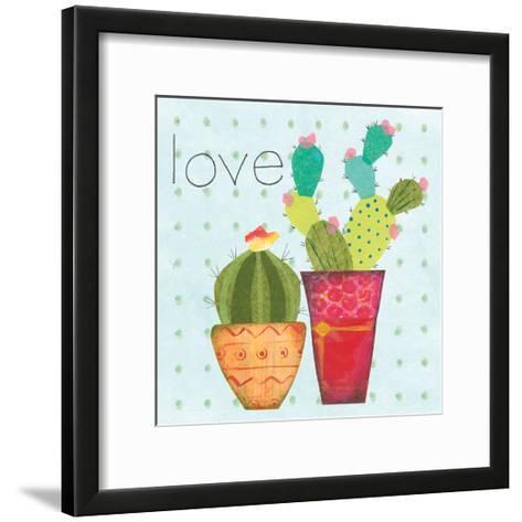 Southwest Cactus III-Courtney Prahl-Framed Art Print