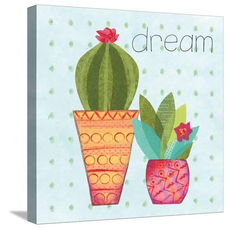 Southwest Cactus IV-Courtney Prahl-Stretched Canvas Print