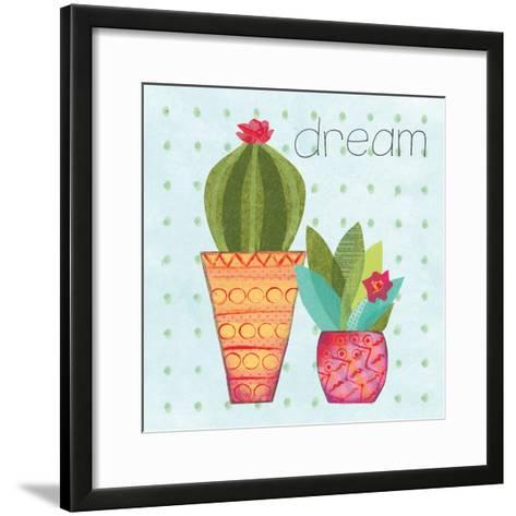 Southwest Cactus IV-Courtney Prahl-Framed Art Print