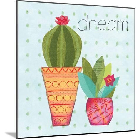 Southwest Cactus IV-Courtney Prahl-Mounted Art Print