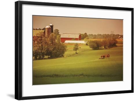 Fall Farm-Aledanda-Framed Art Print