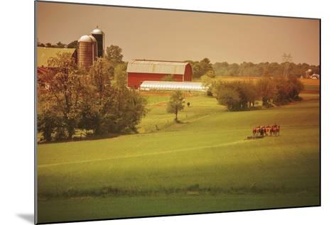 Fall Farm-Aledanda-Mounted Art Print