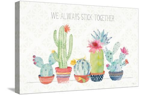 Sweet Succulents I-Pela Studio-Stretched Canvas Print