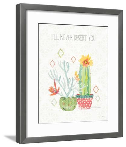 Sweet Succulents V-Pela Studio-Framed Art Print