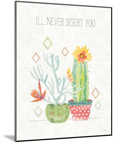 Sweet Succulents V-Pela Studio-Mounted Art Print