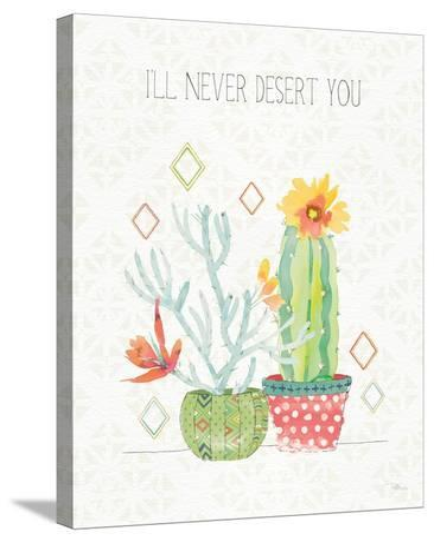 Sweet Succulents V-Pela Studio-Stretched Canvas Print