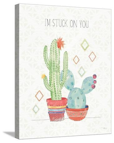 Sweet Succulents II-Pela Studio-Stretched Canvas Print