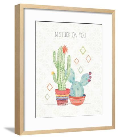 Sweet Succulents II-Pela Studio-Framed Art Print