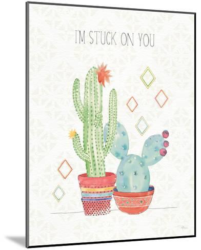 Sweet Succulents II-Pela Studio-Mounted Art Print