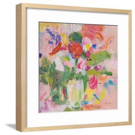 Pink Impressionism-Farida Zaman-Framed Art Print