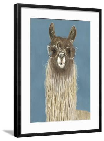 Llama Specs IV-Victoria Borges-Framed Art Print