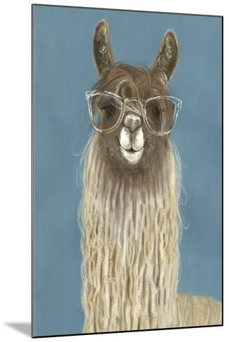 Llama Specs IV-Victoria Borges-Mounted Premium Giclee Print