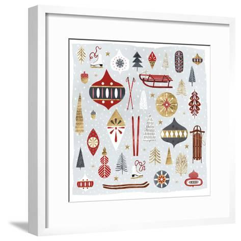 Christmas Chalet IV-Victoria Borges-Framed Art Print