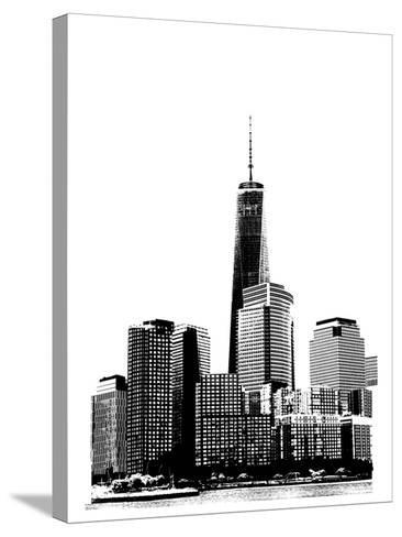 NYC in Pure B&W XIX-Jeff Pica-Stretched Canvas Print