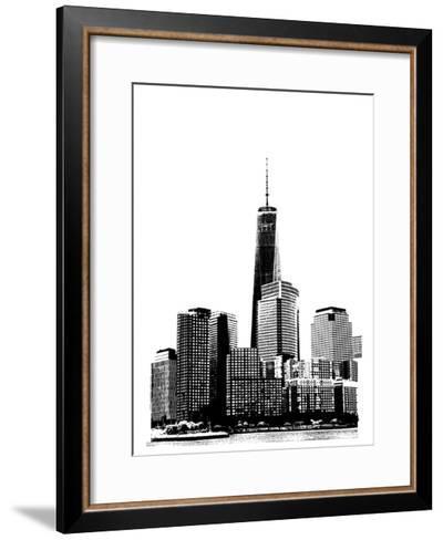 NYC in Pure B&W XIX-Jeff Pica-Framed Art Print
